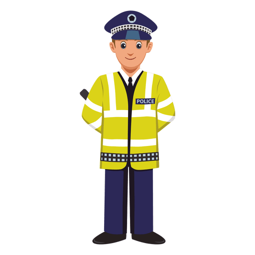 Transit agent profession cartoon Transparent PNG