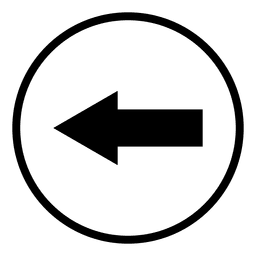Travel airport arrow round icon