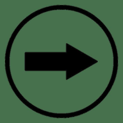 Aeroporto de viagem rodada ícone seta Transparent PNG