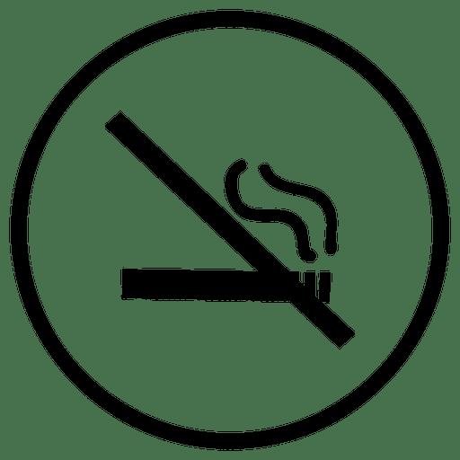 Ícone redondo de fumaça de aeroporto de viagem Transparent PNG