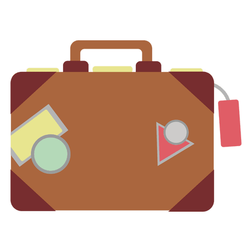 Travel bag icon - Transparent PNG & SVG vector