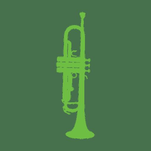 Trumpet music instrument.svg Transparent PNG