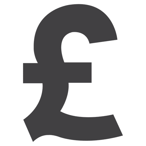 Uk pound icon Transparent PNG