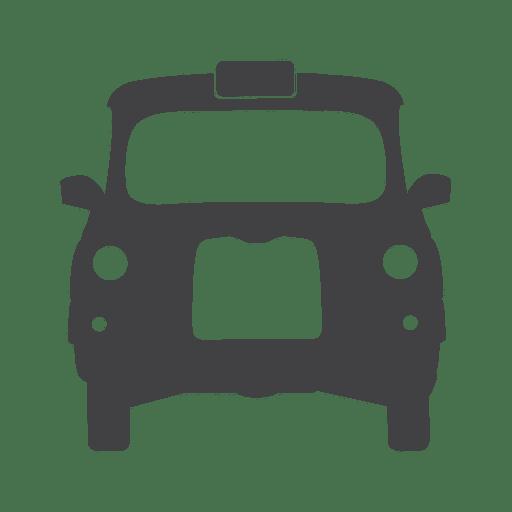 Icono de taxi de Reino Unido Transparent PNG