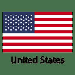 Estados unidos bandera nacional