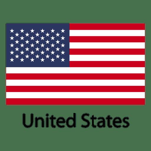 Bandeira nacional dos Estados Unidos Transparent PNG