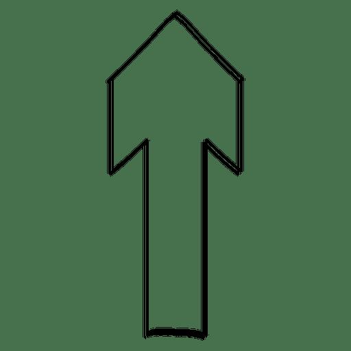 Upper direction arrow