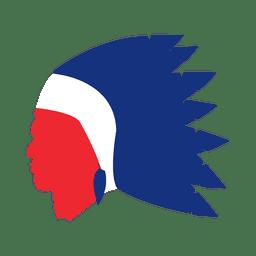 Máscara de Estados Unidos carnaval
