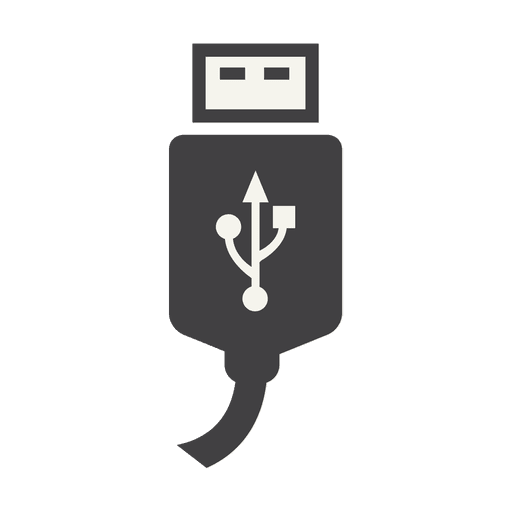 Usb Charger Cable Icon Transparent Png Amp Svg Vector