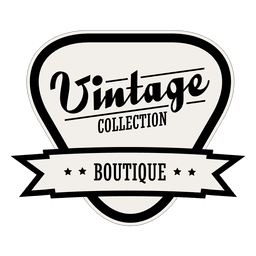 Vintage collection boutique label