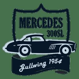Mercedes de la vendimia insignia