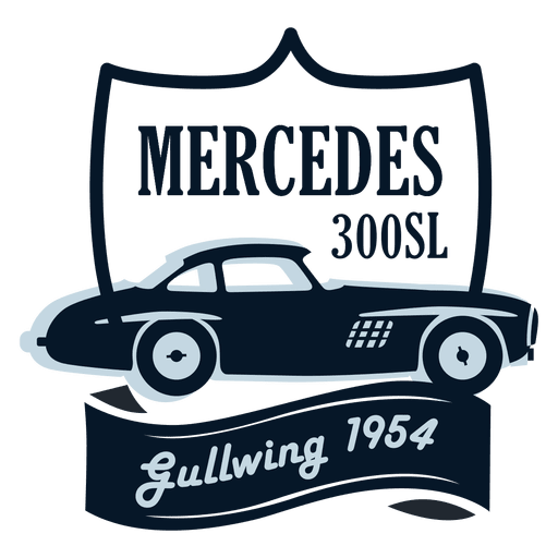 Vintage Mercedes Badge Transparent Png Svg Vector File