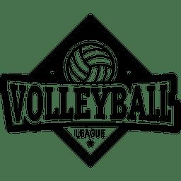 logotipo de voleibol