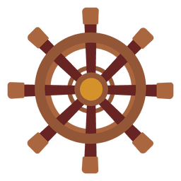 Wheel travel icon