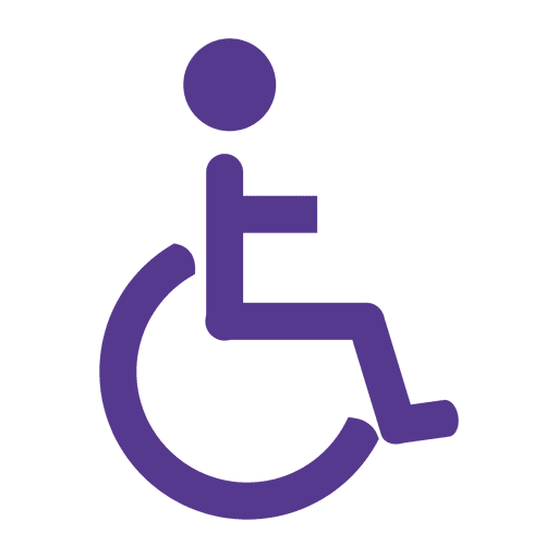 Wheelchair flat icon Transparent PNG