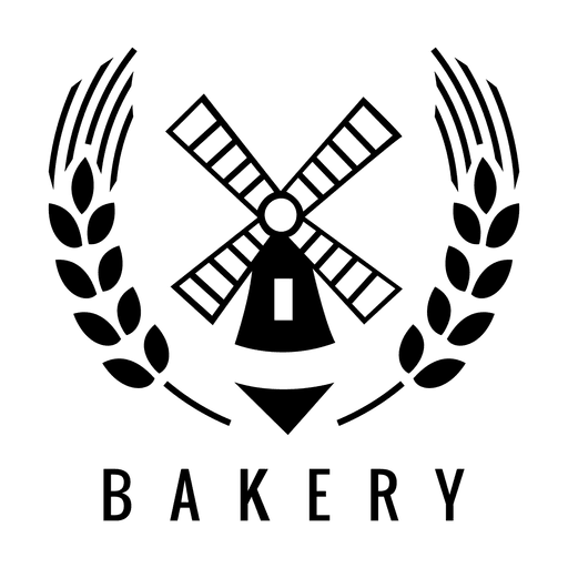Molino de viento panadería logo.svg Transparent PNG