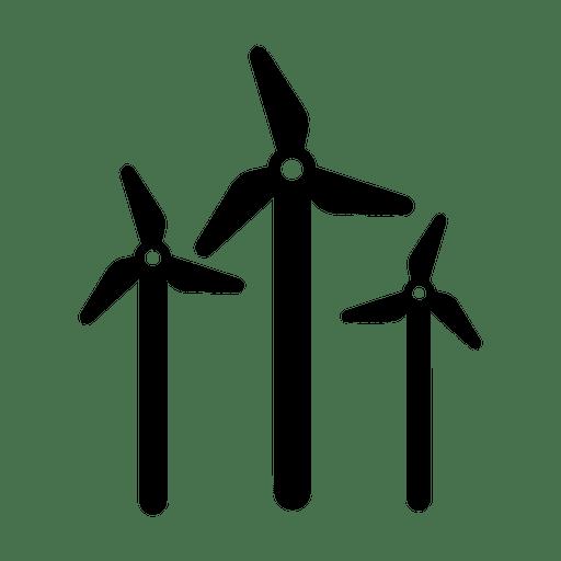 Icono de molino de viento.svg Transparent PNG