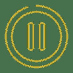 Linha de pausa amarela icon.svg