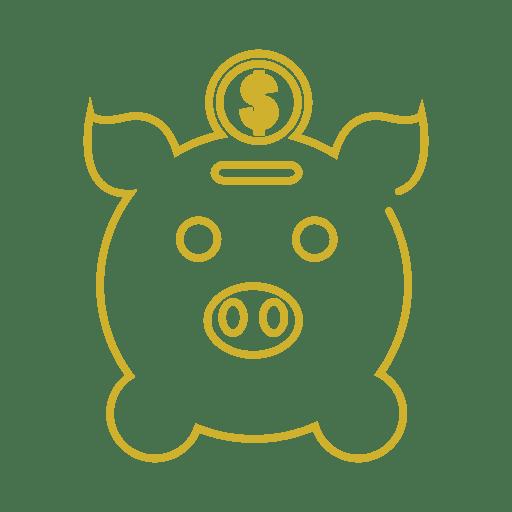 Línea de hucha amarilla icon.svg