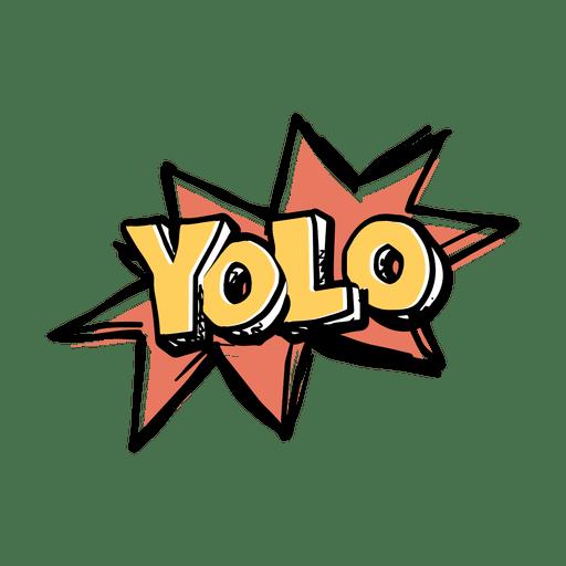 yolo slang word transparent png amp svg vector