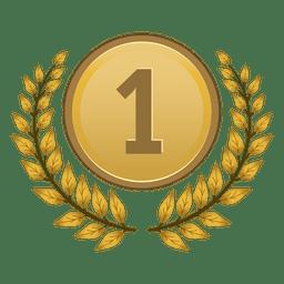 1º lugar medalha de louro