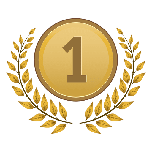 1º lugar medalha de louro Transparent PNG