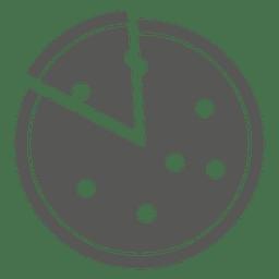 Icono de pizza en rodajas 2