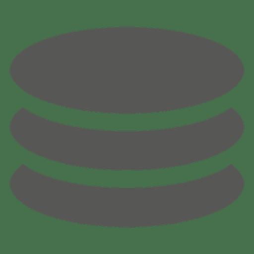 3 ícone de moedas de pilha Transparent PNG