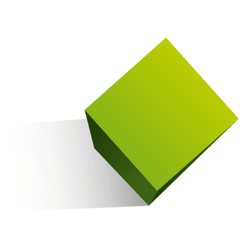 3d cube shape - Transparent PNG & SVG vector