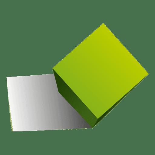 3d cube shape