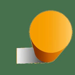 3d cylinder shape