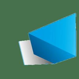 Form des Dreiecks 3d