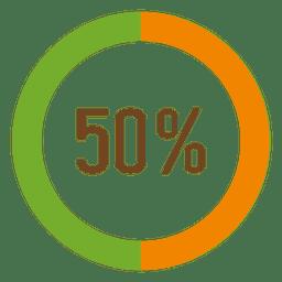 50 por ciento de infografía