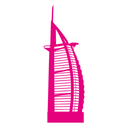 Burj al Arabische Skyline