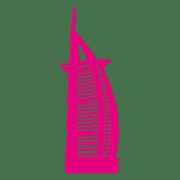 Skyline de Burj al Arab