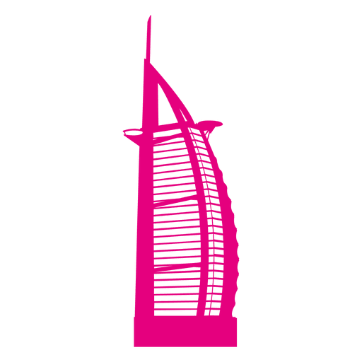 Burj al arab skyline Transparent PNG
