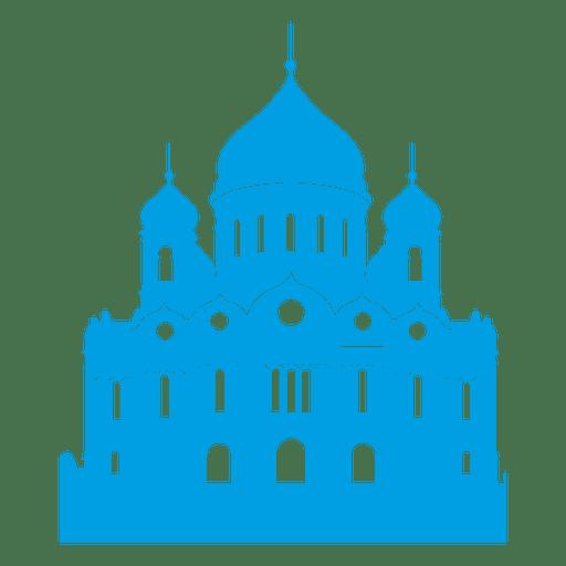 Cathedral christ the saviour Transparent PNG