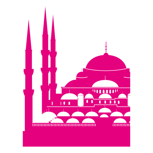 Mezquita del sultán ahmet Transparent PNG