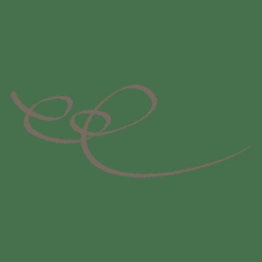Decoração linear ornamentada abstrata Transparent PNG