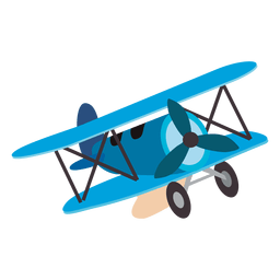 Airplane toy cartoon