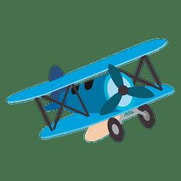 Desenhos animados de brinquedo de avião