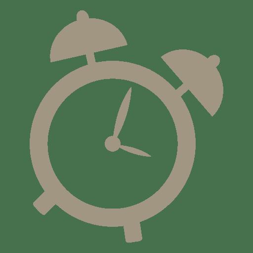 Alarm clock flat icon 3 Transparent PNG