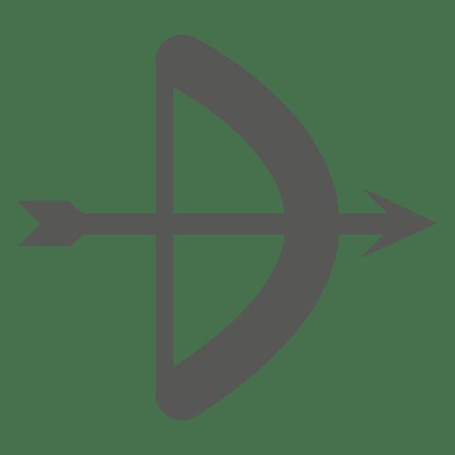 Ícone de tiro com arco Transparent PNG