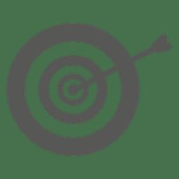 Arrow on dirtboard icon