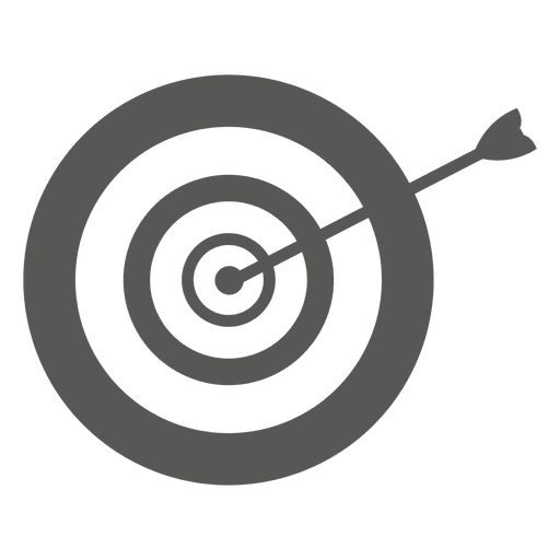 Arrow on dirtboard icon Transparent PNG