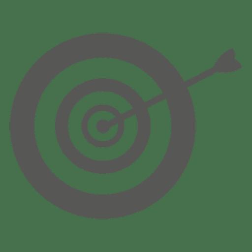 Seta no ícone de dirtboard Transparent PNG
