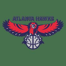 Logotipo de falcões de Atlanta