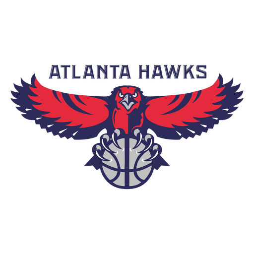 Atlanta hawks logo Transparent PNG