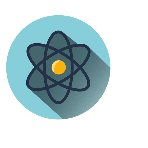 Atomic circle icon Transparent PNG