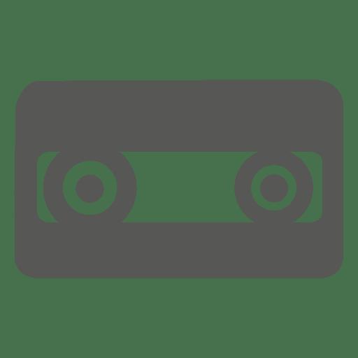 Audio cassette tape icon Transparent PNG